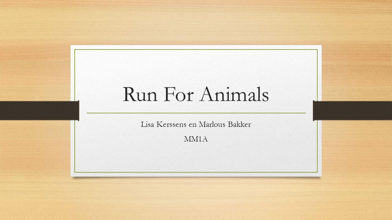Run For Animals Lisa Kerssens en Marlous Bakker MM1A