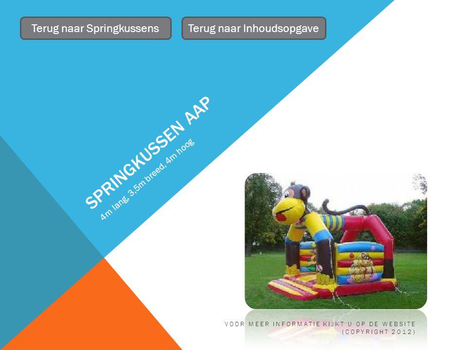 AANHANGER Met huif Terug naar Inhoudsopgave VOOR MEER INFORMATIE KIJKT U OP DE WEBSITE (COPYRIGHT 2012)