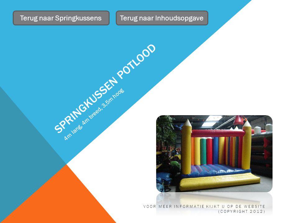 STATAFELS 6 beschikbaar Terug naar TafelsTerug naar Inhoudsopgave VOOR MEER INFORMATIE KIJKT U OP DE WEBSITE (COPYRIGHT 2012)