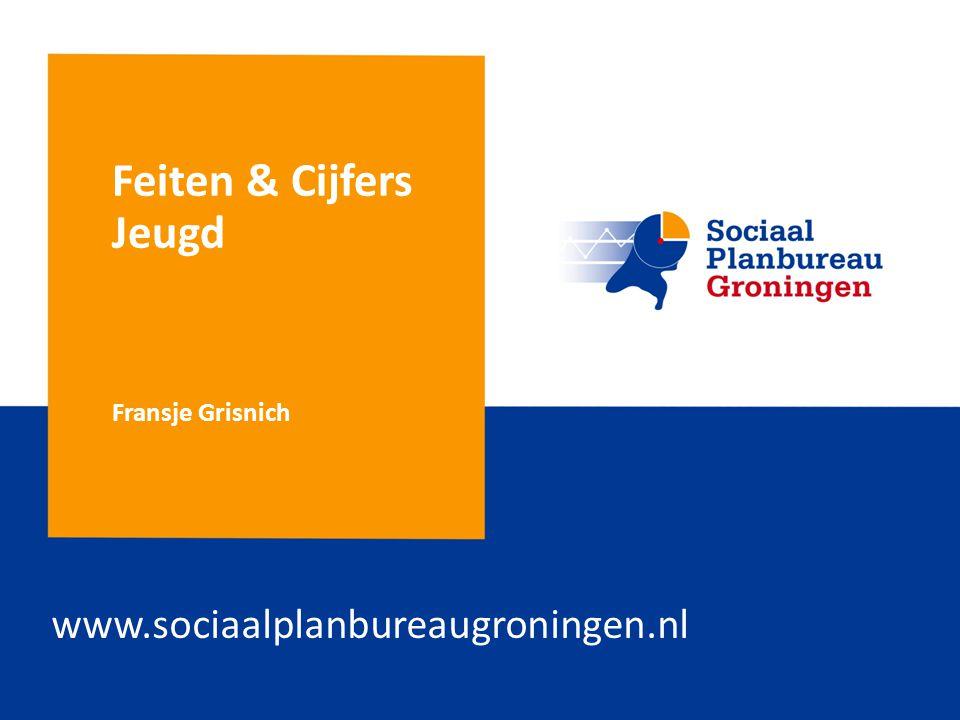 Feiten & Cijfers Jeugd Fransje Grisnich www.sociaalplanbureaugroningen.nl