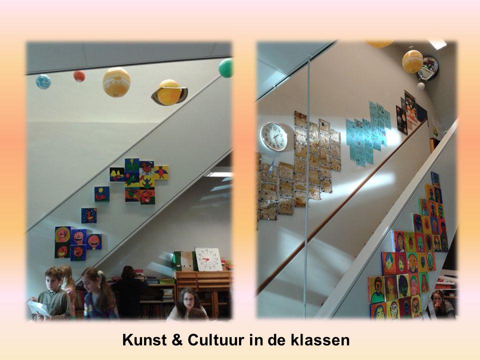 Kunst & Cultuur in de klassen