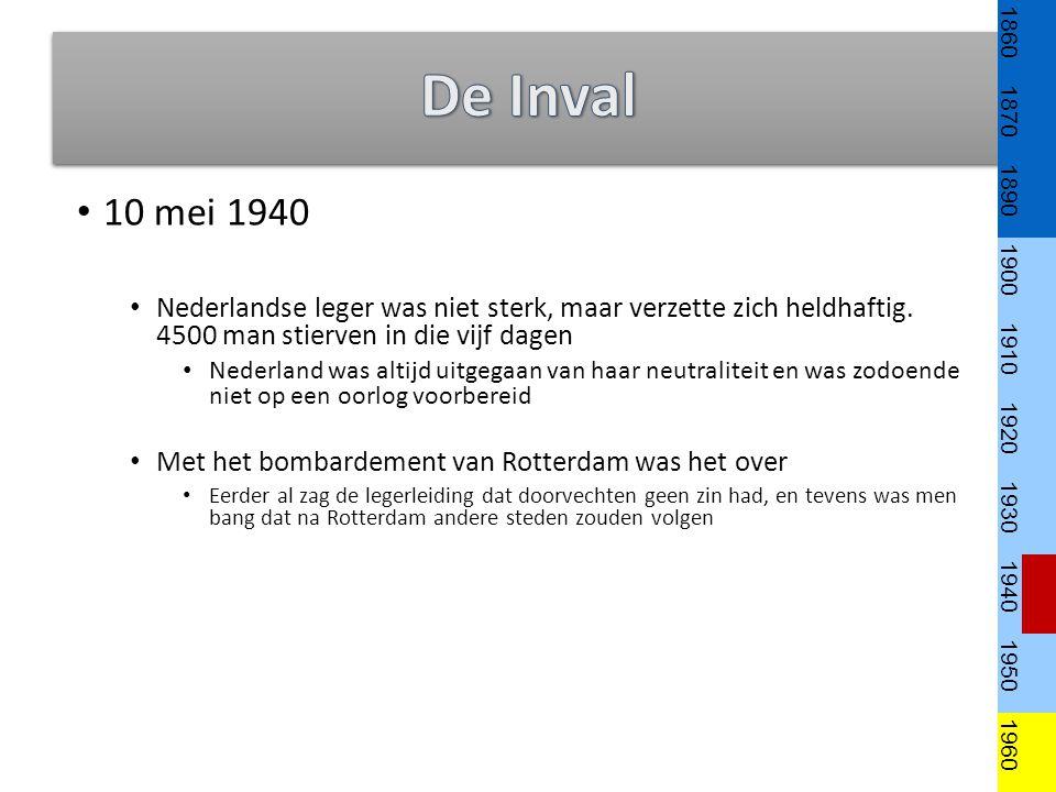 10 mei 1940 Nederlandse leger was niet sterk, maar verzette zich heldhaftig.