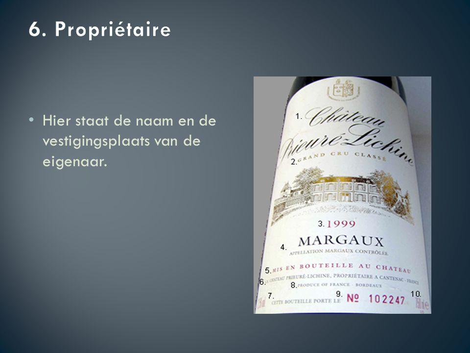 In %, moet verplicht vermeld worden op het etiket. Hoe meer alcohol hoe zwaarder de wijn.