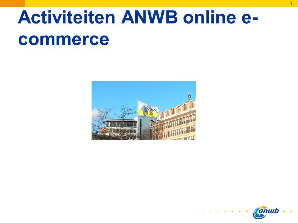 Activiteiten ANWB online e- commerce 1
