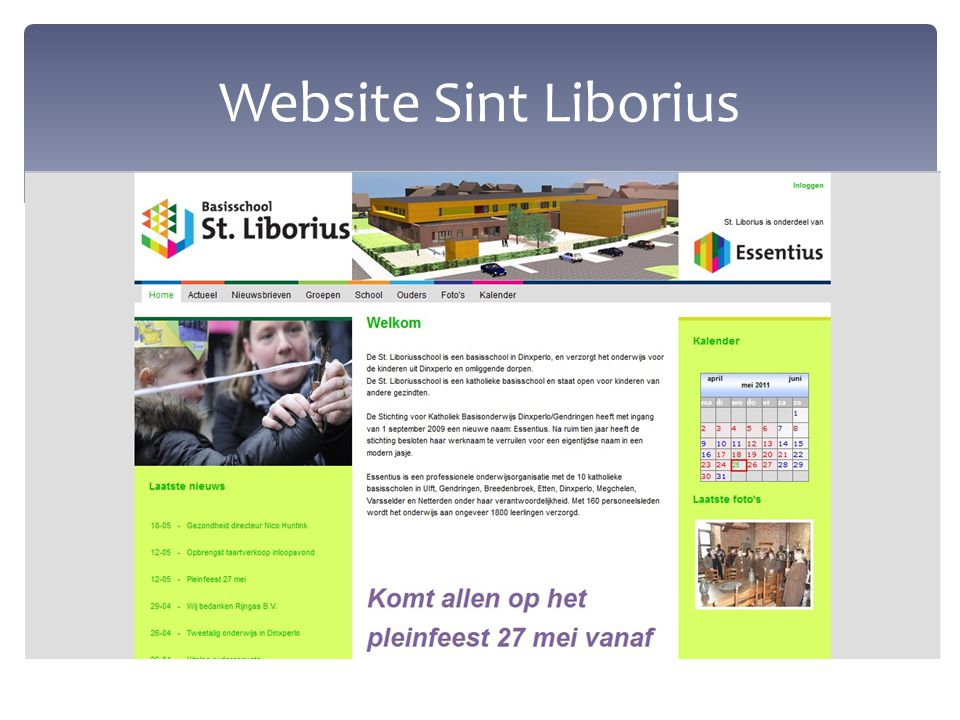 Website Sint Liborius