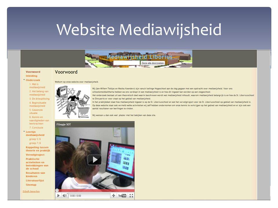 ''Het is noodzakelijk om mediawijsheid aan te bieden in het huidige onderwijs'' Stelling