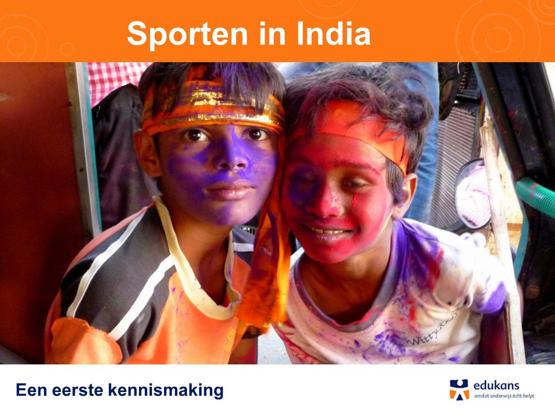 Sporten in India Een eerste kennismaking