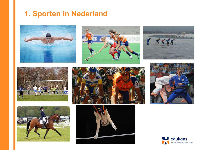 1. Sporten in Nederland