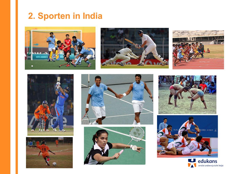 2. Sporten in India