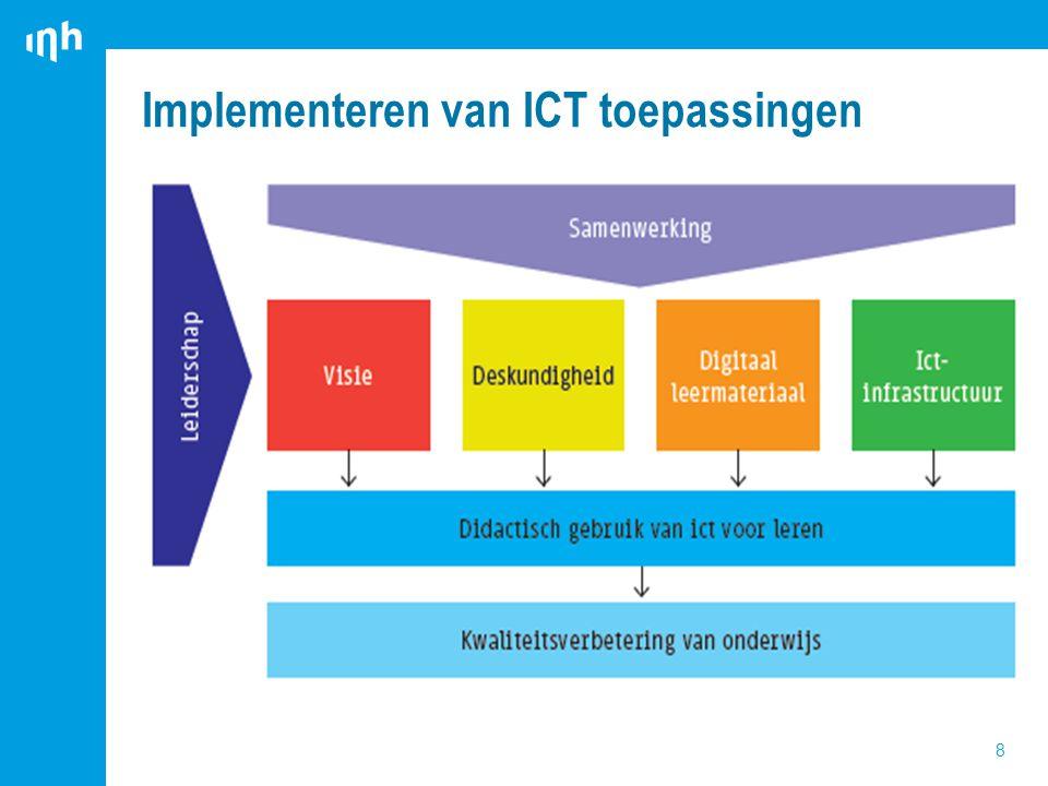 Implementeren van ICT toepassingen 8