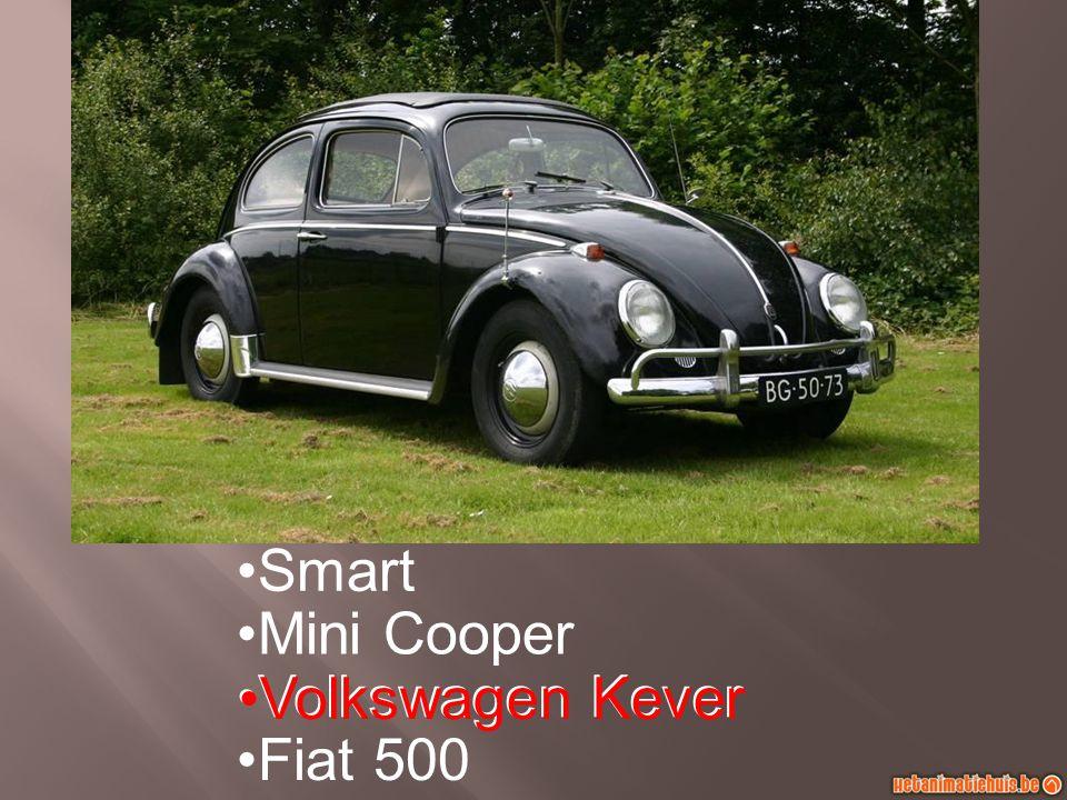 Smart Mini Cooper Volkswagen Kever Fiat 500 Volkswagen Kever