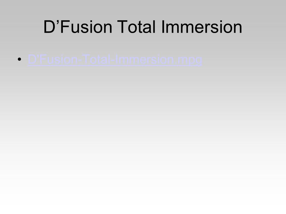 D'Fusion Total Immersion D Fusion-Total-Immersion.mpg