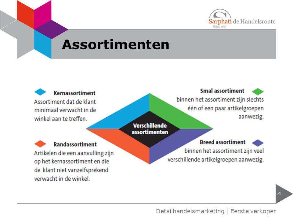 Assortimenten 4 Detailhandelsmarketing | Eerste verkoper