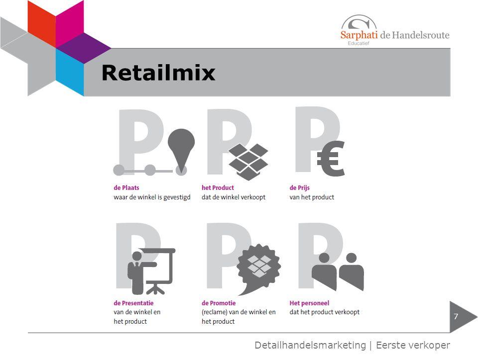 Retailmix 7 Detailhandelsmarketing | Eerste verkoper