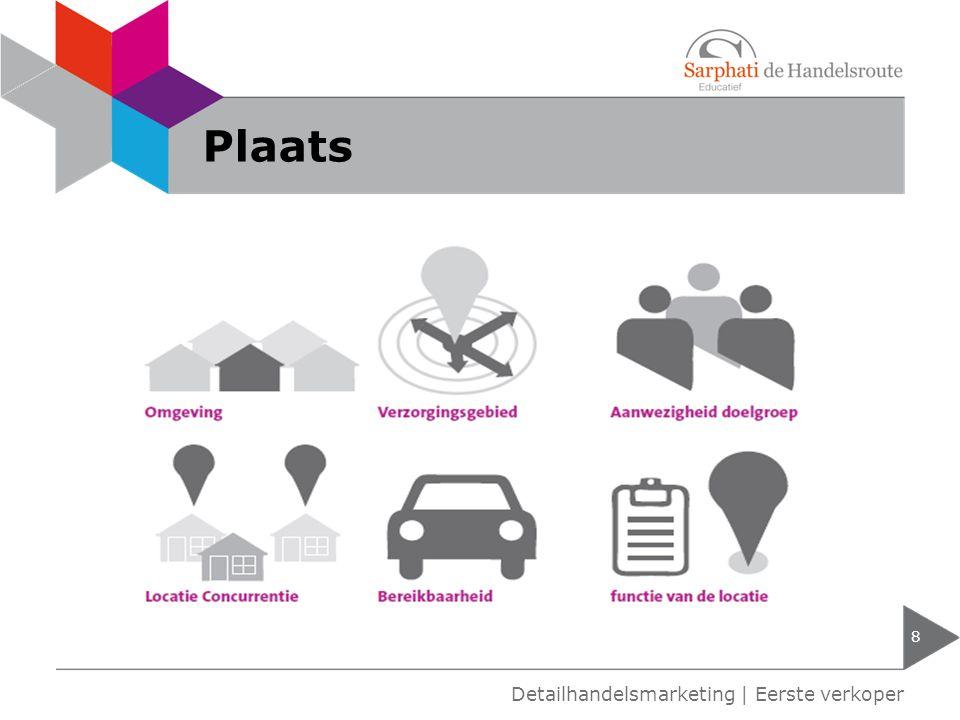Plaats 8 Detailhandelsmarketing | Eerste verkoper