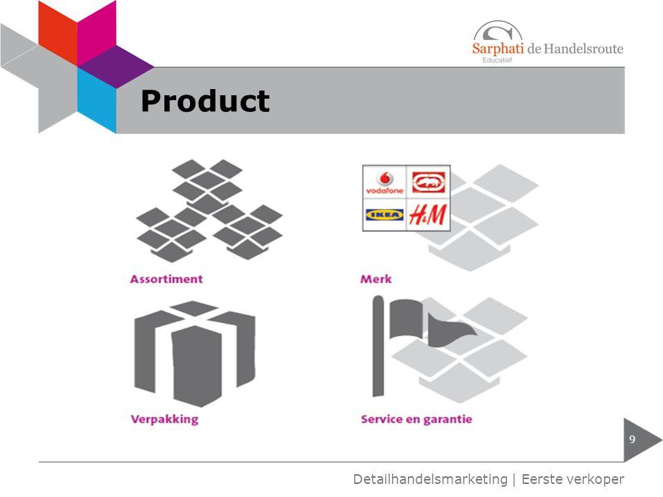 Product 9 Detailhandelsmarketing | Eerste verkoper