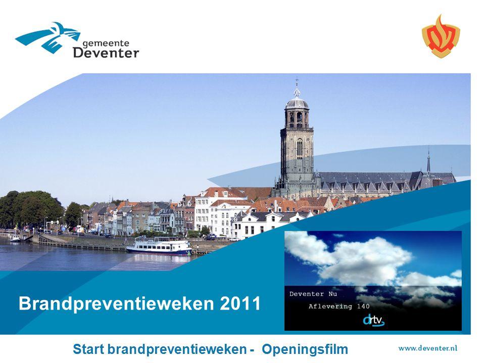 Start brandpreventieweken - Openingsfilm Brandpreventieweken 2011