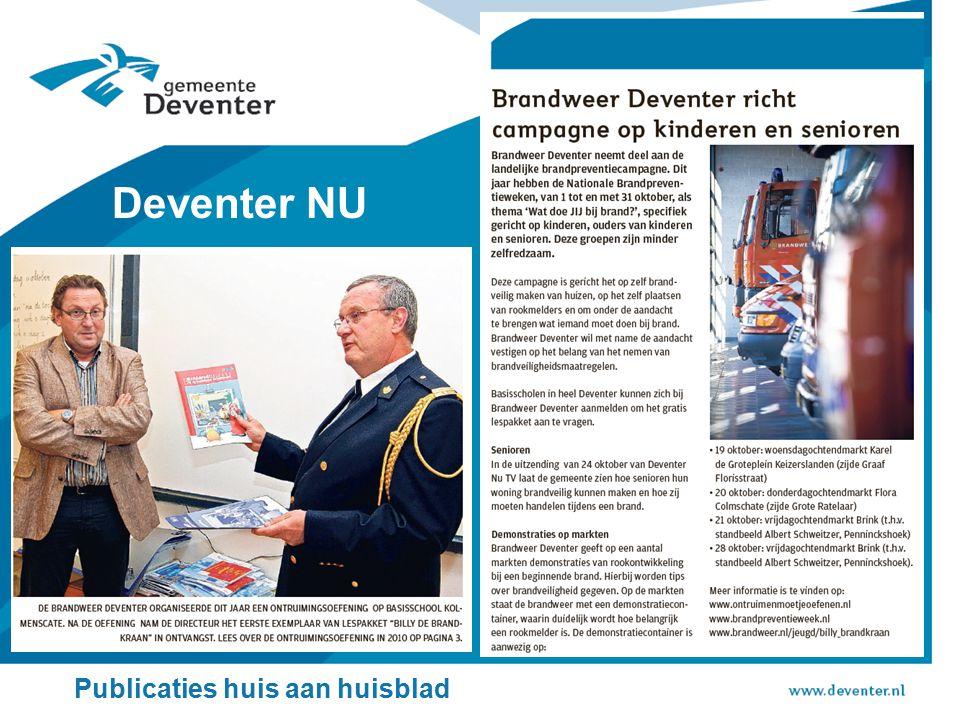 Deventer NU Publicaties huis aan huisblad