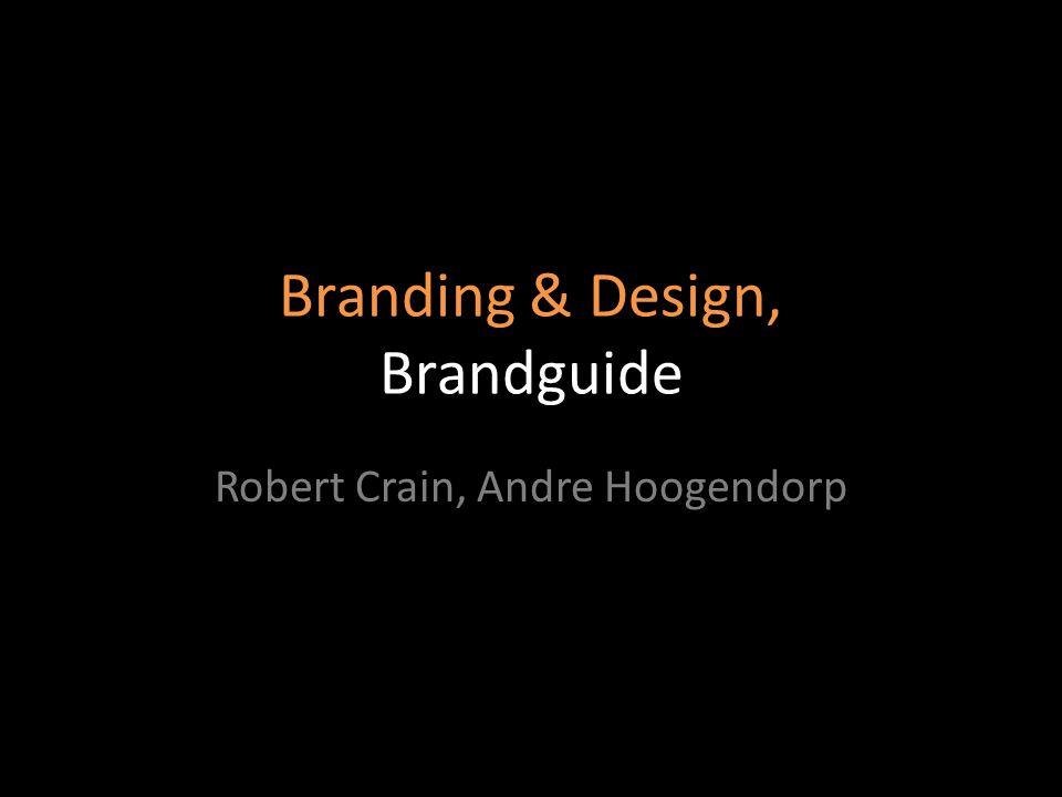 Branding & Design, Brandguide Robert Crain, Andre Hoogendorp