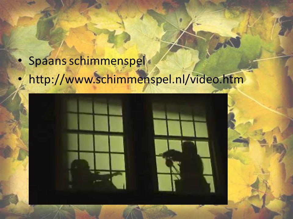 Spaans schimmenspel http://www.schimmenspel.nl/video.htm