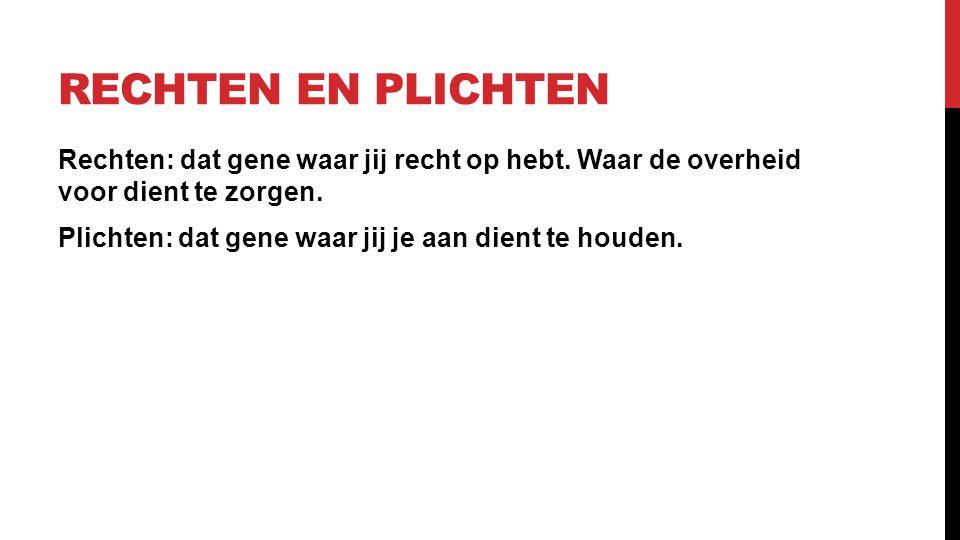 2.2 GRONDBEGINSELEN VAN DE RECHTSSTAAT Nederland is een parlementaire democratie in een constitutionele monarchie.