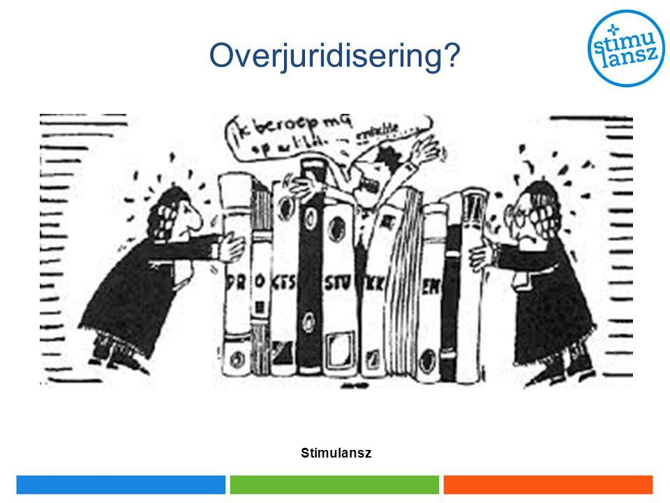 Overjuridisering? Stimulansz