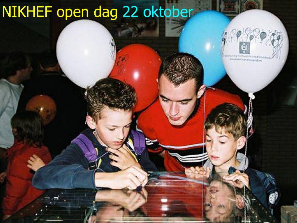 12/33 NIKHEF open dag 22 oktober
