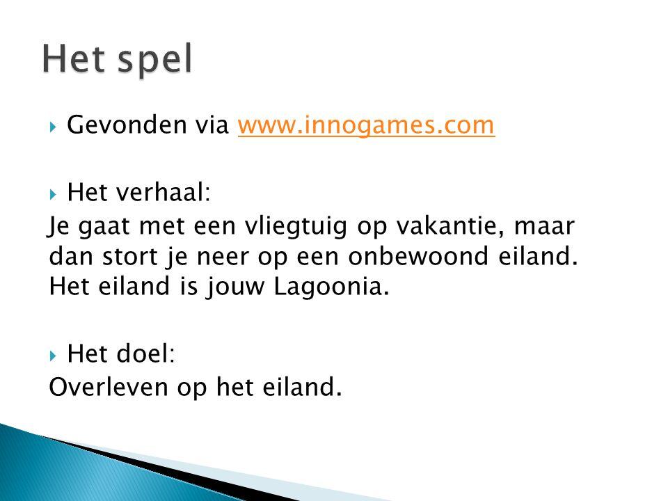 Gevonden via www.innogames.comwww.innogames.com  Het verhaal: Je gaat met een vliegtuig op vakantie, maar dan stort je neer op een onbewoond eiland