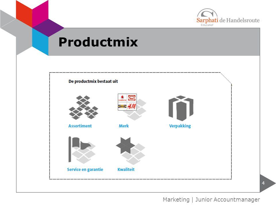 4 Marketing | Junior Accountmanager Productmix