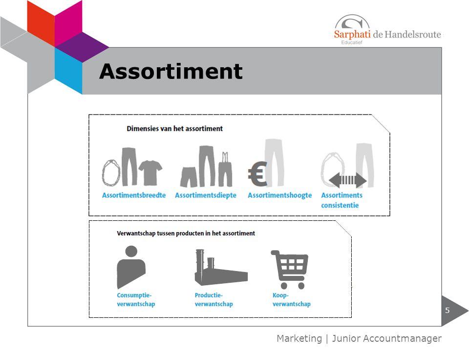 5 Marketing | Junior Accountmanager Assortiment