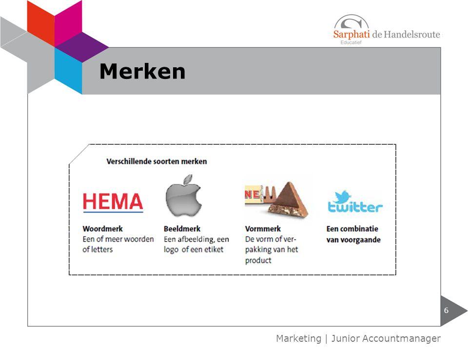 6 Marketing | Junior Accountmanager Merken