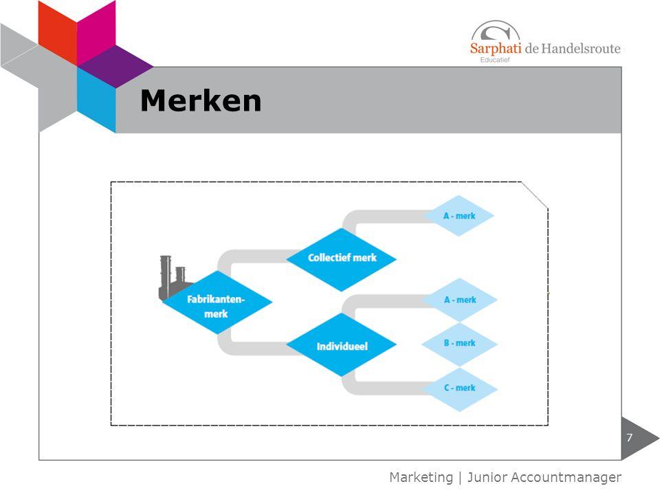 7 Marketing | Junior Accountmanager Merken