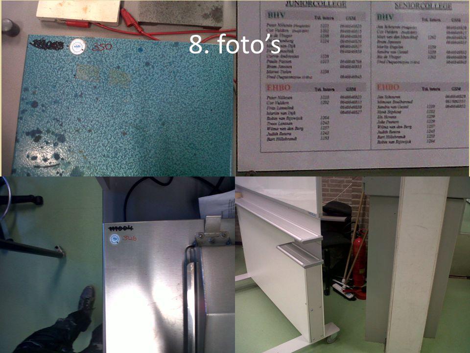 8. foto's