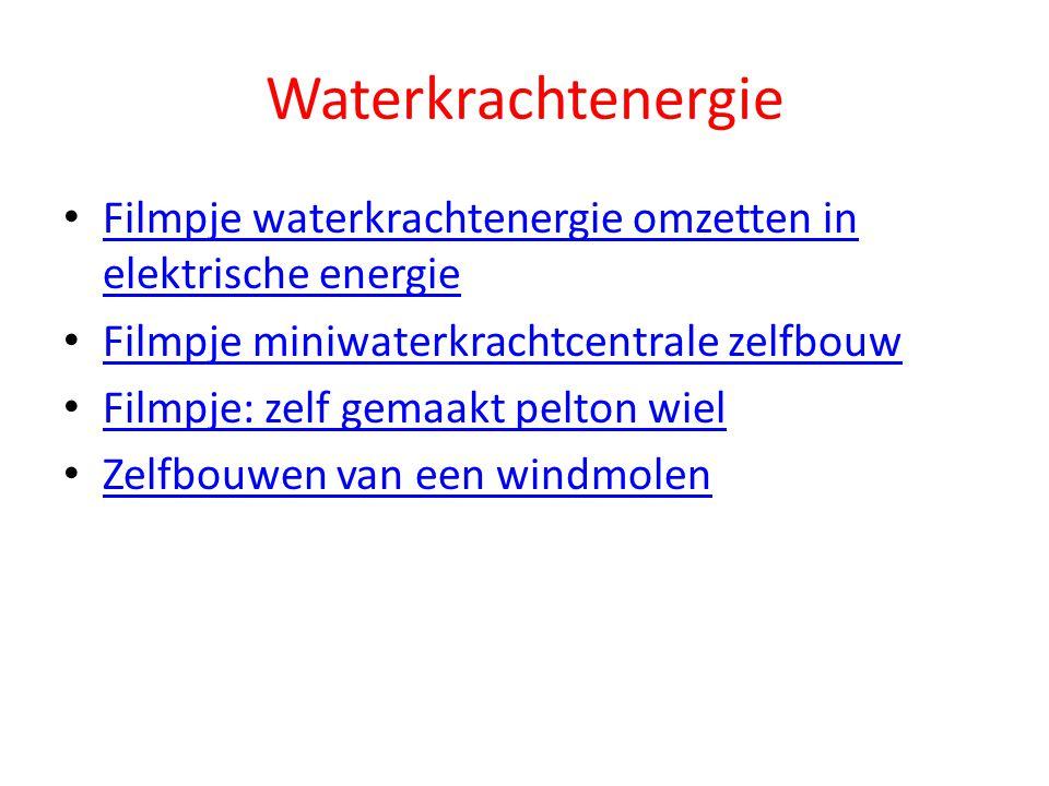 Waterkrachtenergie Filmpje waterkrachtenergie omzetten in elektrische energie Filmpje waterkrachtenergie omzetten in elektrische energie Filmpje miniw