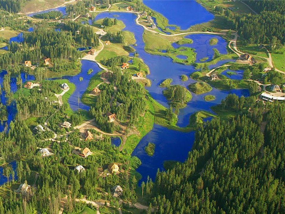 Amatciems heeft enkel natuurlijke zoetwaterreserves: vijvers, meren en beken. Die zijn allemaal met elkaar verbonden om elkaar te bevoorraden en overs