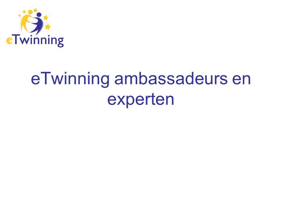 eTwinning ambassadeurs en experten