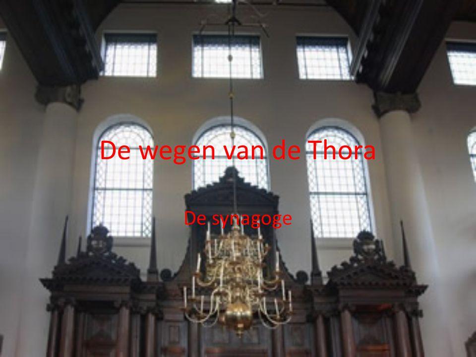 De wegen van de Thora De synagoge