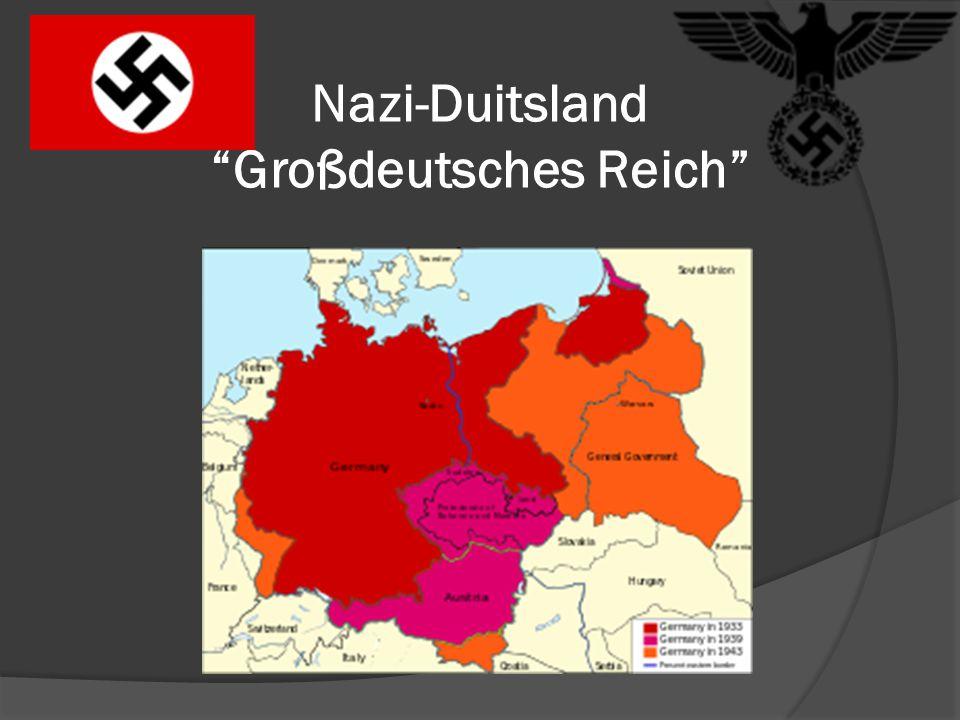 """Nazi-Duitsland """"Großdeutsches Reich"""""""