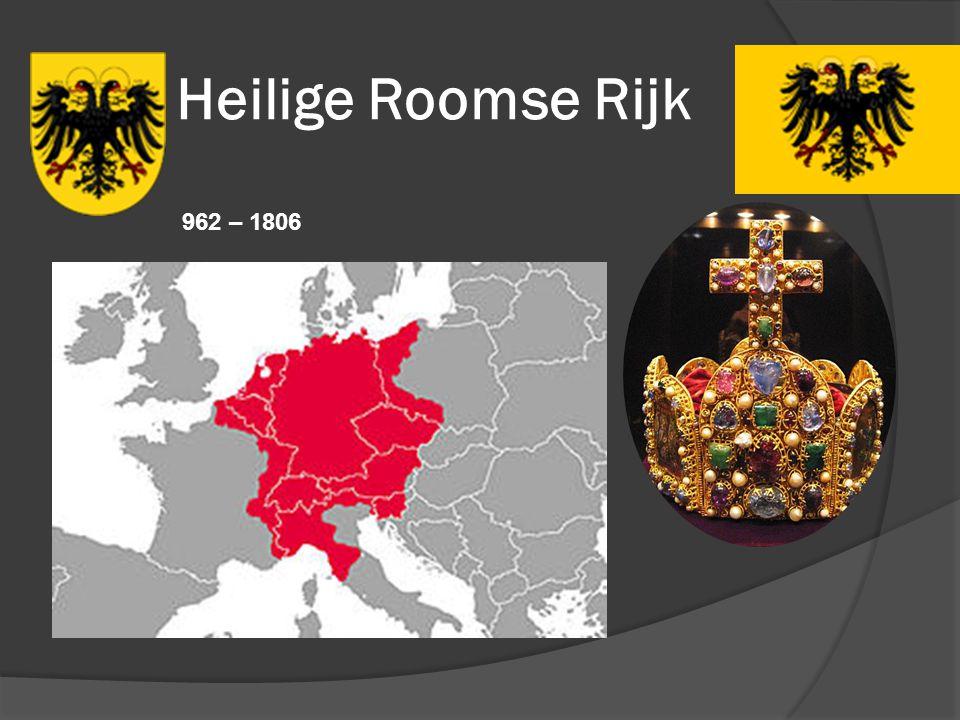 Heilige Roomse Rijk 962 – 1806