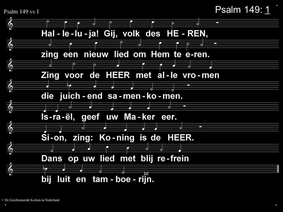 ... Psalm 149: 1