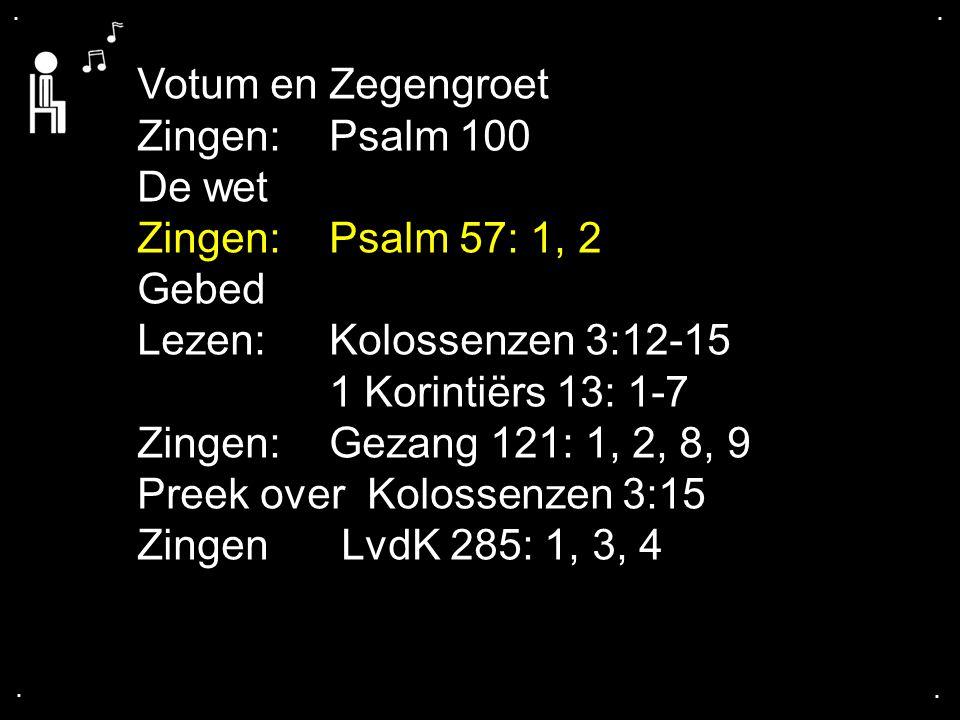 ... Psalm 57: 1, 2
