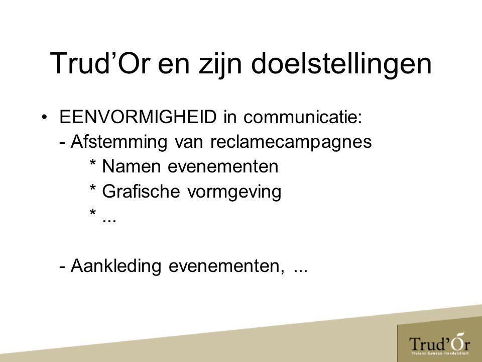 EENVORMIGHEID in communicatie: - Afstemming van reclamecampagnes * Namen evenementen * Grafische vormgeving *...
