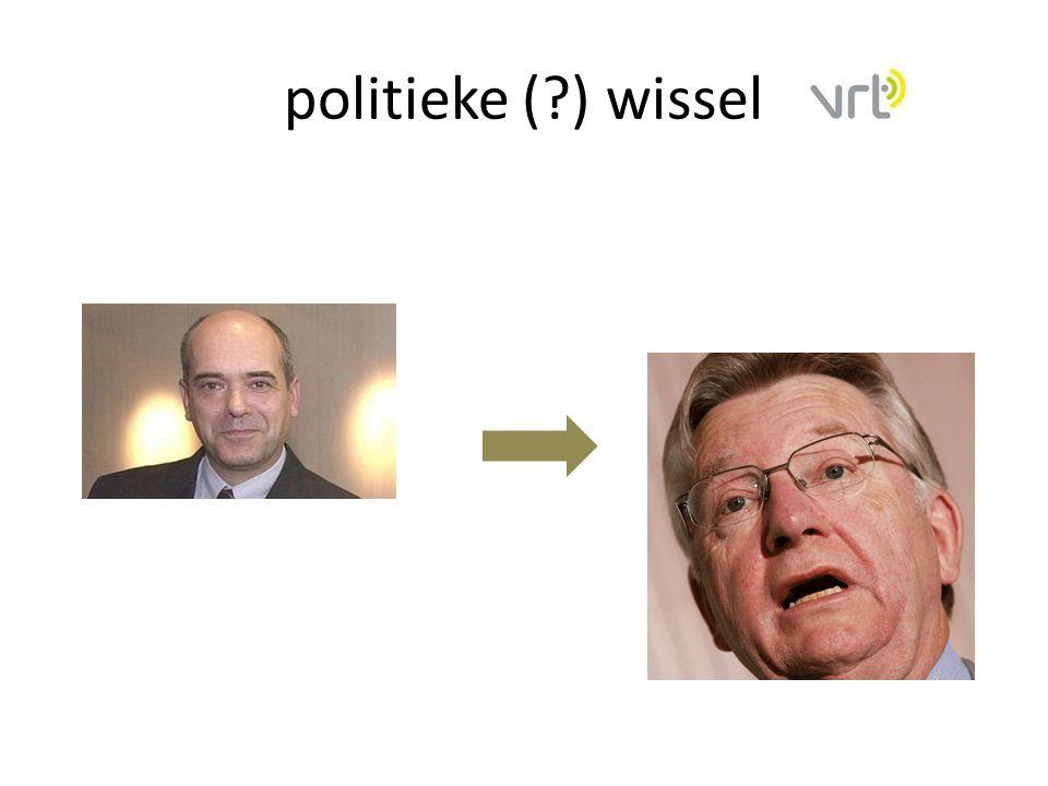 politieke (?) wissel