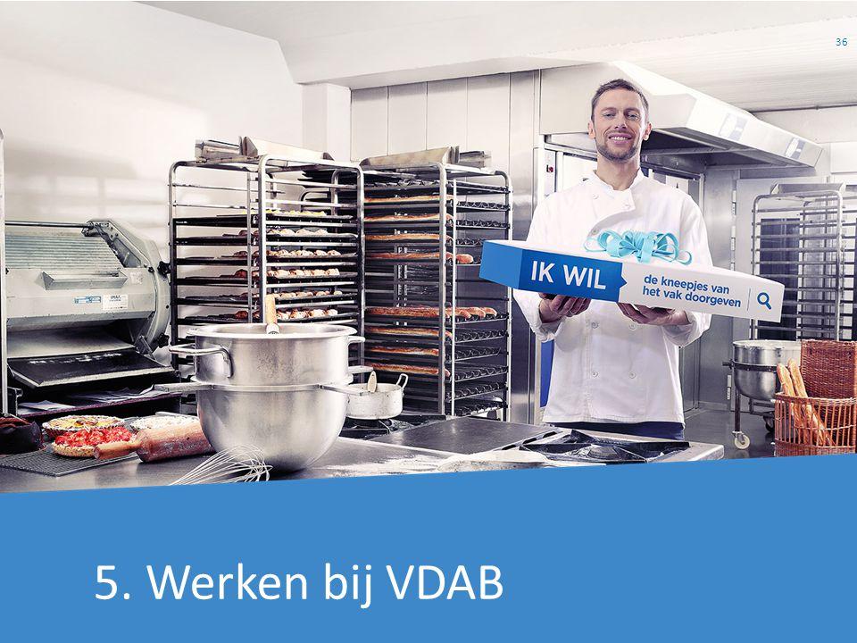 5. Werken bij VDAB 36