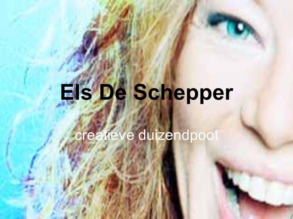 Els De Schepper creatieve duizendpoot