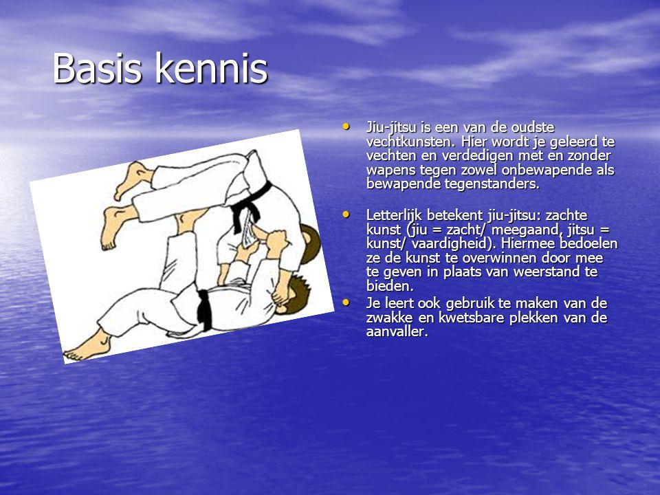 Basis kennis Jiu-jitsu is een van de oudste vechtkunsten.