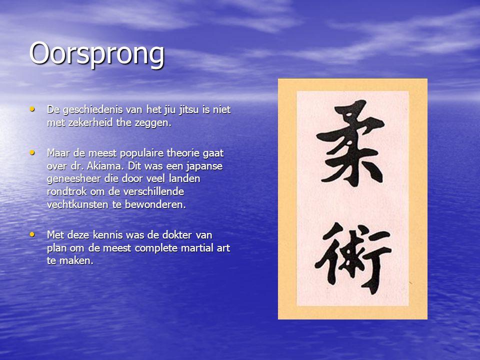Oorsprong De geschiedenis van het jiu jitsu is niet met zekerheid the zeggen.