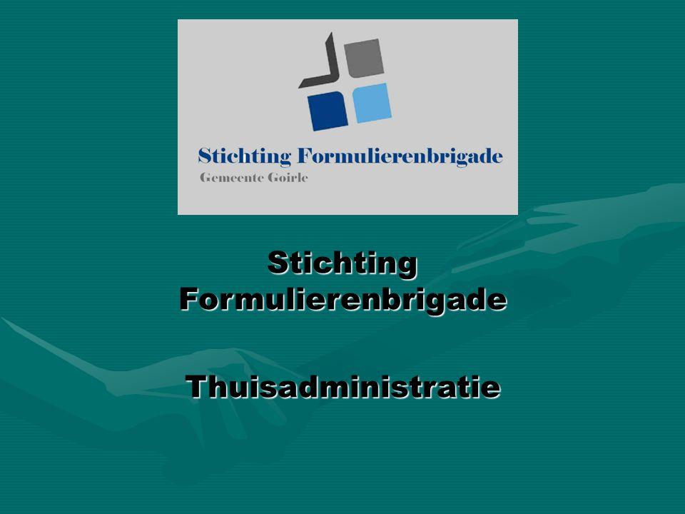 Stichting Formulierenbrigade Thuisadministratie