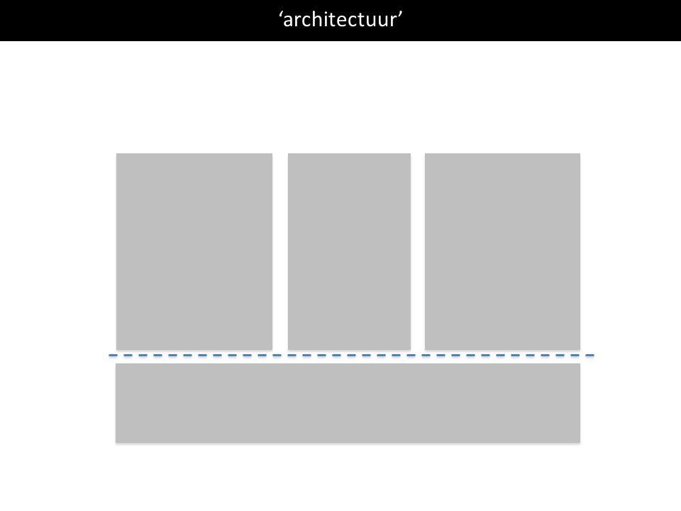 'architectuur'