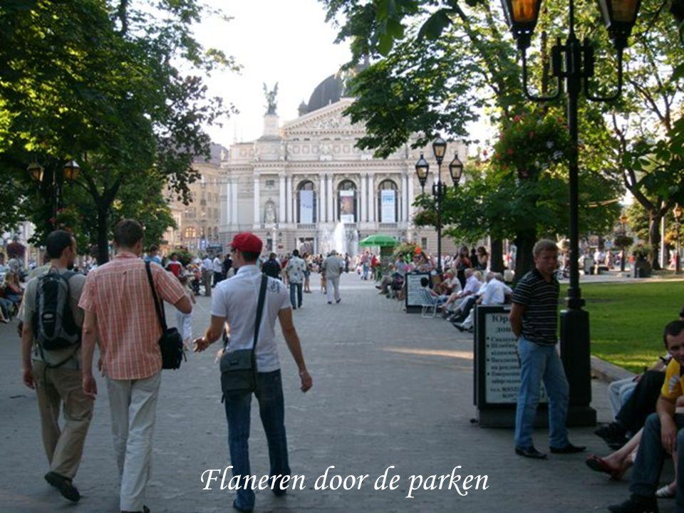 Flaneren door de parken